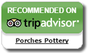 Porches Pottery are on Tripadvisor