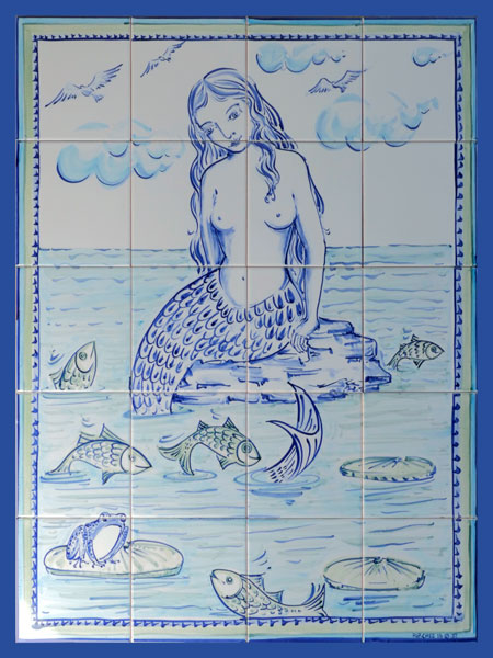 Mermaid Tile Panel JS