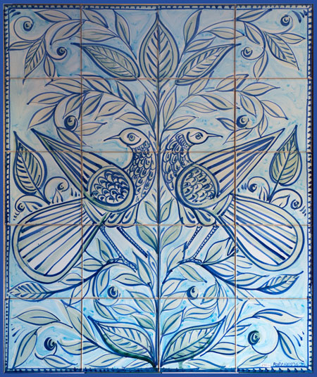 Tree of Life Tile Panel JS2016