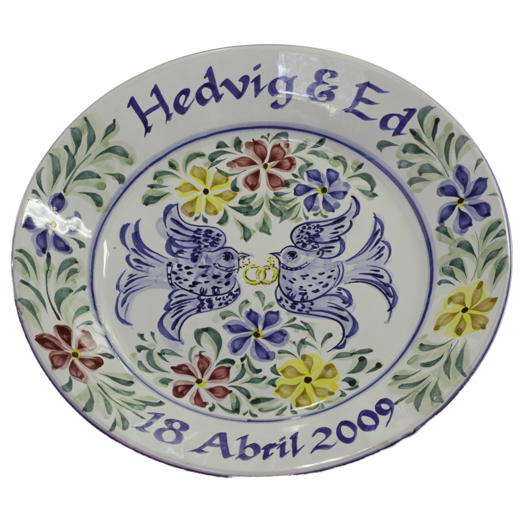Personalised Large Plate