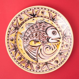 Decorative Plate by Juliet Swift