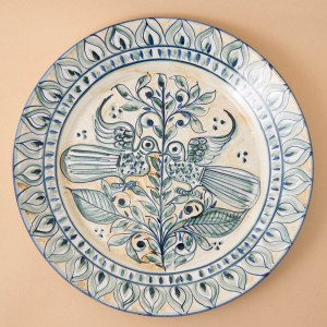 Decorative Plate by Ana Bôto.