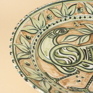 Decorative Plate, by Juliet Swift