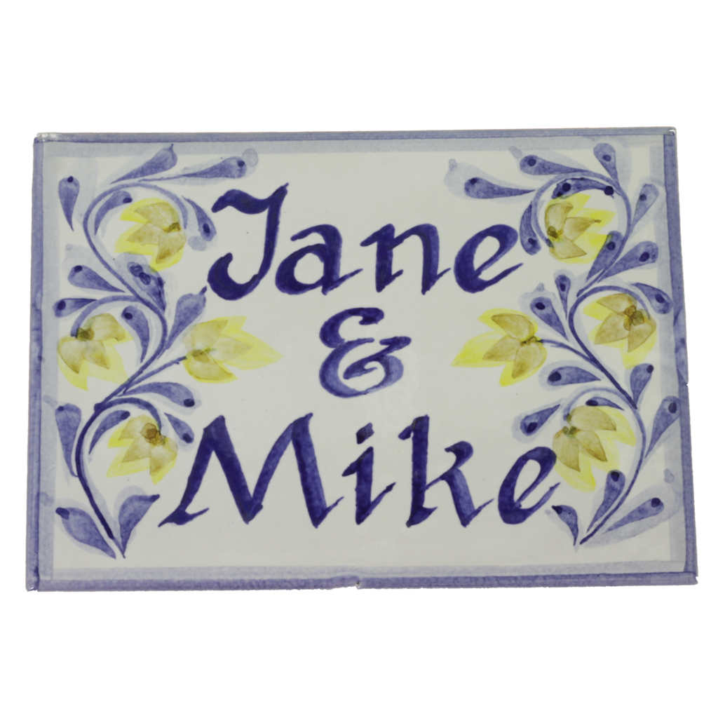 House names plaques tiles privado personalised plaque house name dailygadgetfo Gallery