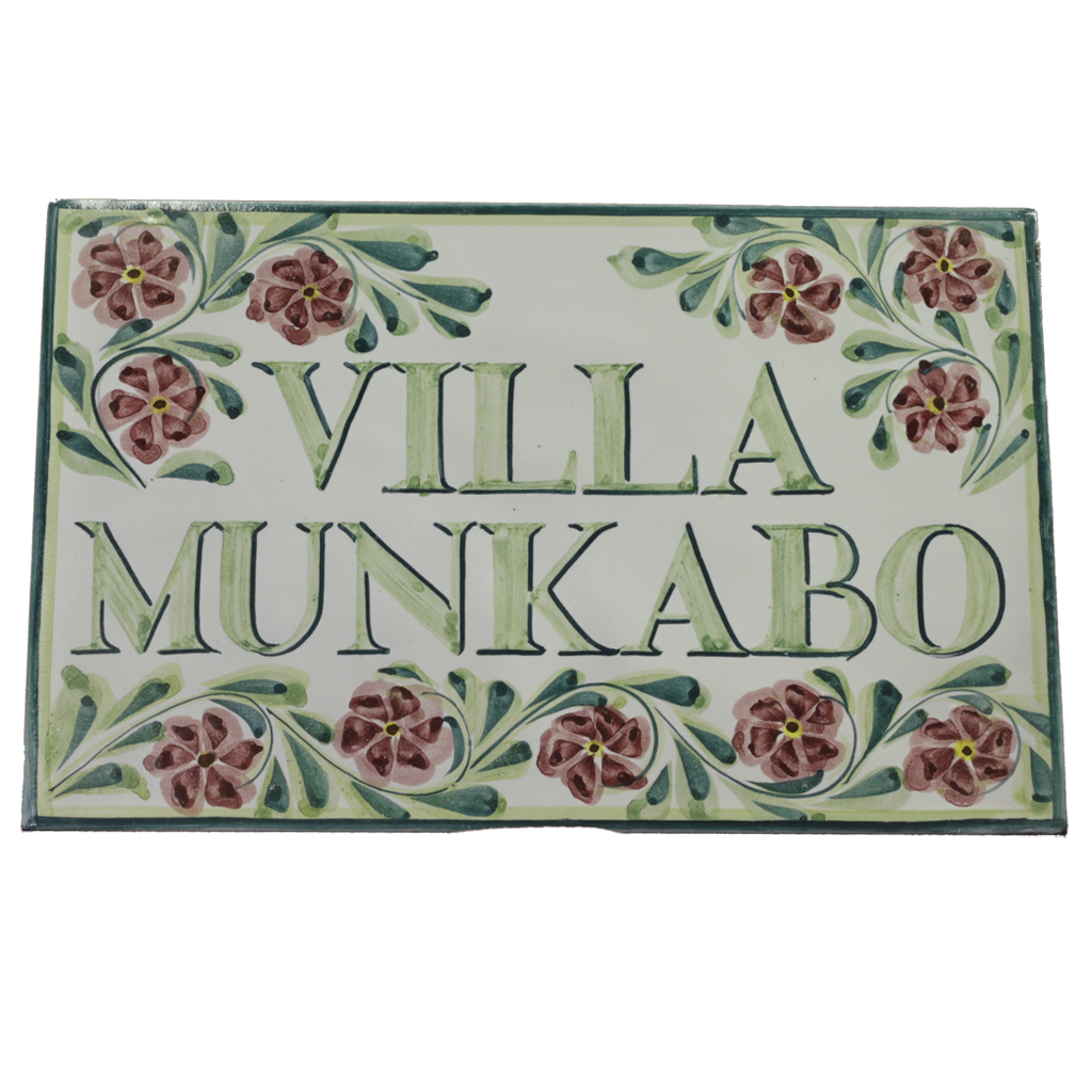 House names plaques tiles personalised tile house name dailygadgetfo Gallery